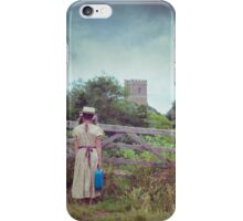enjoying the countryside iPhone Case/Skin