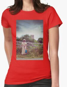 enjoying the countryside Womens Fitted T-Shirt