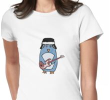 Something Great: Blue Penguin (Girls) Womens Fitted T-Shirt