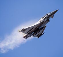 Typhoon Vapour Trails by Lee Wilson