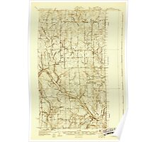 Maine USGS Historical Map Fort Fairfield 807493 1930 48000 Poster