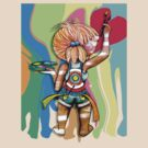 Art Chick Paint Shirt by © Cassidy (Karin) Taylor
