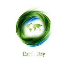 Earth Day Design by Olga Altunina