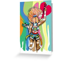 Art Chick Greeting Card