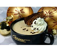 Christmas Mousse Photographic Print