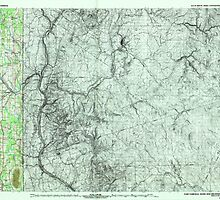 Maine USGS Historical Map Fort Fairfield 807924 1993 100000 by wetdryvac