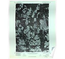 Maine USGS Historical Map Fort Fairfield NW 806699 1975 24000 Poster