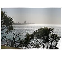 Surfers Paradise from Burleigh Heads Poster