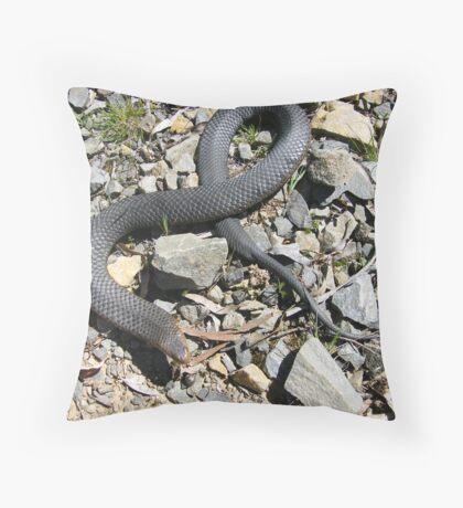 Copperhead caught at Port Sorell Tas 2 Throw Pillow