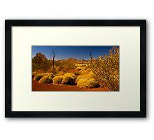 Outback Vista. Framed Print