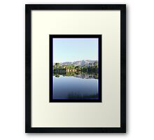 Reflections in My Utopia Framed Print