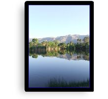 Reflections in My Utopia Canvas Print