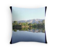 Reflections in My Utopia Throw Pillow
