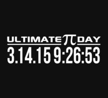 Ultimate Pi Day 2015 Once in a Lifetime 3.14.15 9:26 Gifts by Albany Retro