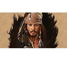 Jack Sparrow Photographic Print