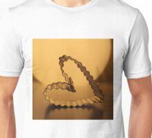Golden heart Unisex T-Shirt