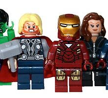 LEGO Avengers with Nick Fury by jenni460