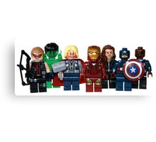 LEGO Avengers with Nick Fury Canvas Print