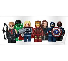 LEGO Avengers with Nick Fury Poster