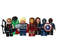 LEGO Avengers with Nick Fury Photographic Print
