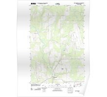 Maine USGS Historical Map Fort Fairfield NW 20110907 TM Poster