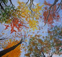 AUTUMN SKY II by lizzyforrester