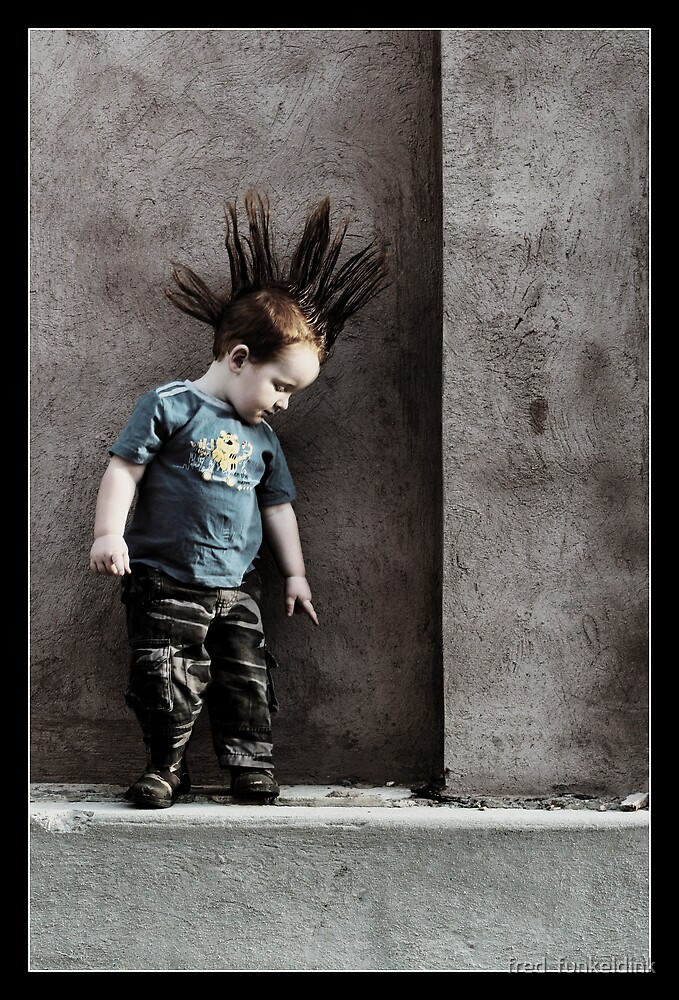 Punx not dead ... he just hasn't grown up yet.. by fred  funkeldink