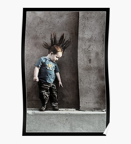 Punx not dead ... he just hasn't grown up yet.. Poster