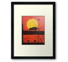 album art Framed Print
