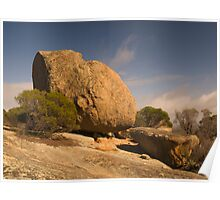 Melville Caves Rock Formations Poster