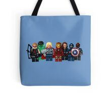 LEGO Avengers with Nick Fury Tote Bag