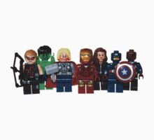 LEGO Avengers with Nick Fury Kids Clothes