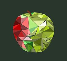 Geometric Apple by yourdeathnote