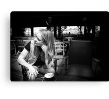 Napier cafe Canvas Print