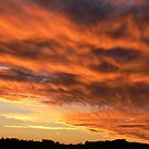 Evening sunset on the East coast. by Heabar