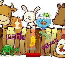 ALL PETS GREAT AND SMALL by Sharon Robertson