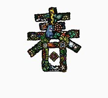 Floral Spring Festival couplet [Spring] - Colorful Animals(Black) Unisex T-Shirt