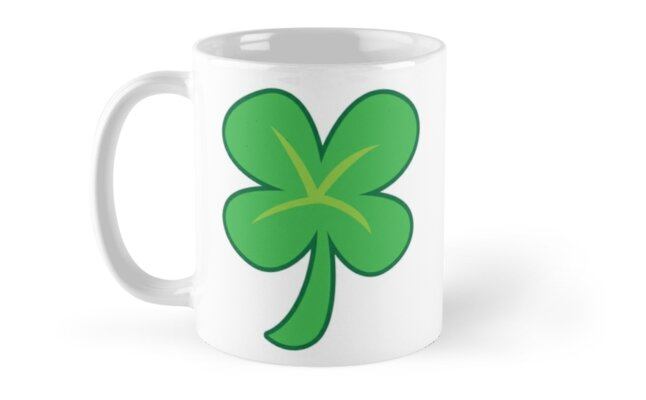 Green clover shamrock for St Patrick's day cute! by jazzydevil