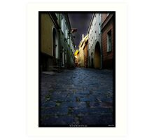 The Inn at the end of the lane Art Print