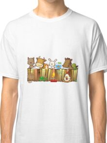 Animal Fence Classic T-Shirt
