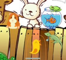 Animal Fence Sticker