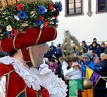 Great Mystical Carnival in Austrian Tyrol by Elzbieta Fazel