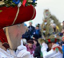 Great Mystical Carnival in Austrian Tyrol Sticker