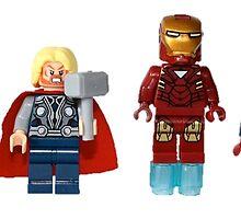 LEGO Avengers by jenni460
