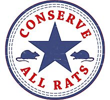 Conserve All Rats Photographic Print