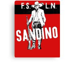 Sandino Tee Canvas Print
