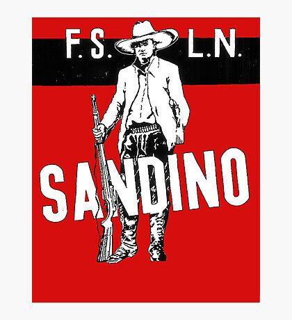 Sandino Tee Photographic Print