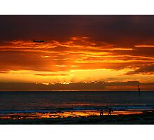 Glenelg Beach Photographic Print