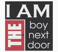 I am the boy next door  One Piece - Short Sleeve