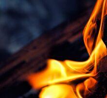 Midnight Fire Sticker